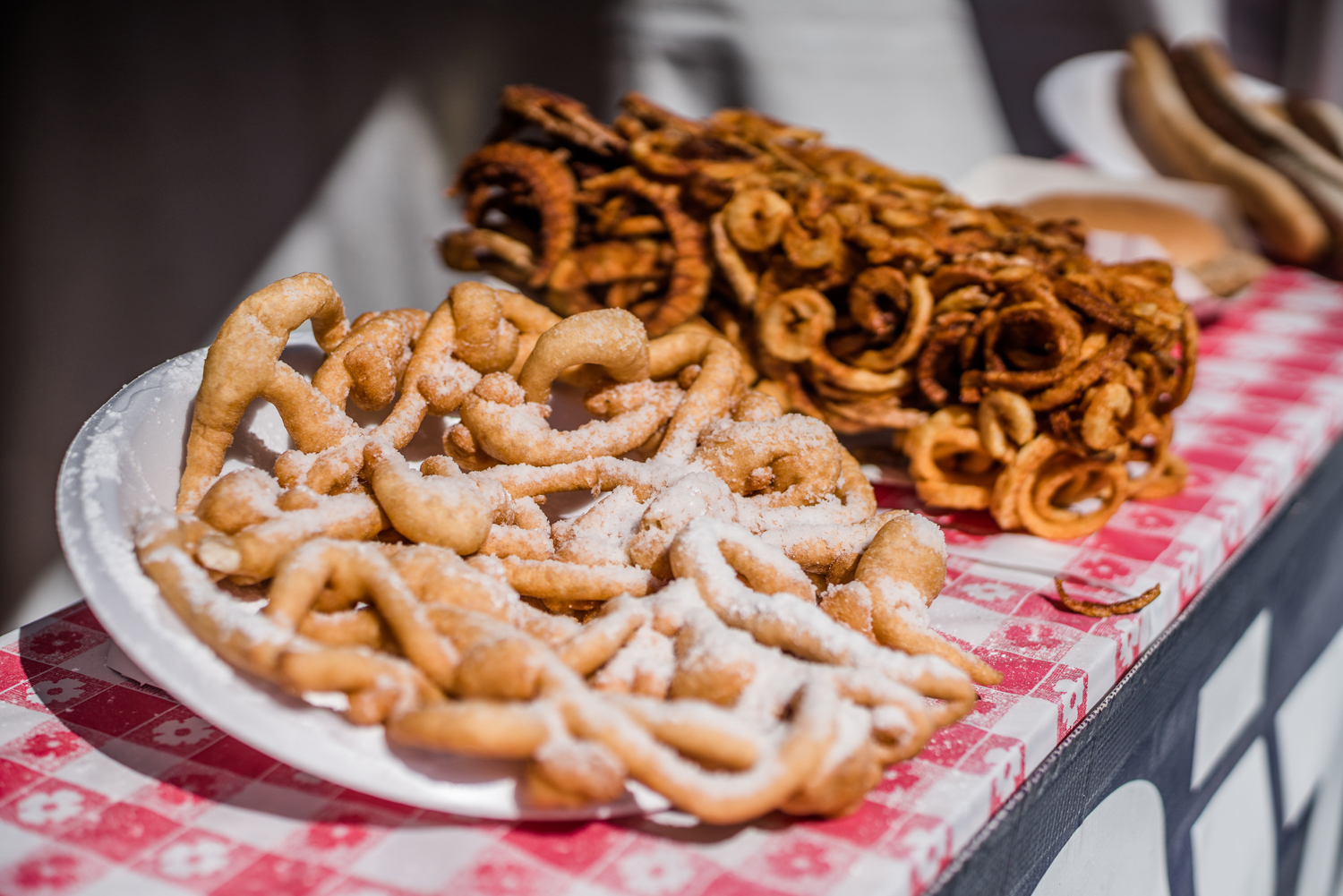 Funnel cake is one of the most popular food items available at Riverfest.