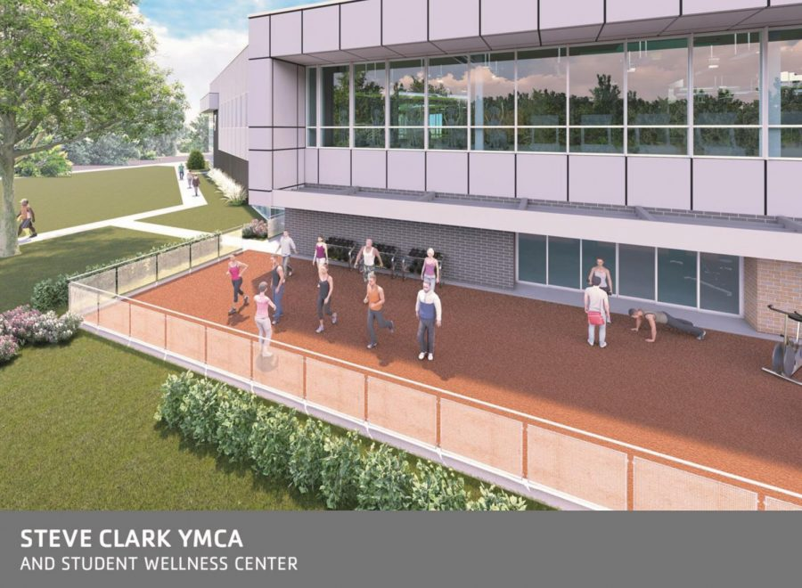 Steve_Clark_YMCA_and_Student_Wellness_Cetnter_Outdoor_Group_Exercise_Space_Rendering
