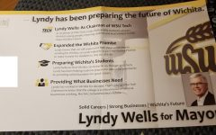 Wichita mayoral candidate misuses WSU, WSU Tech logos in flyer