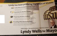 Wichita mayoral candidate misuses WSU, WSU Tech logos in flyer