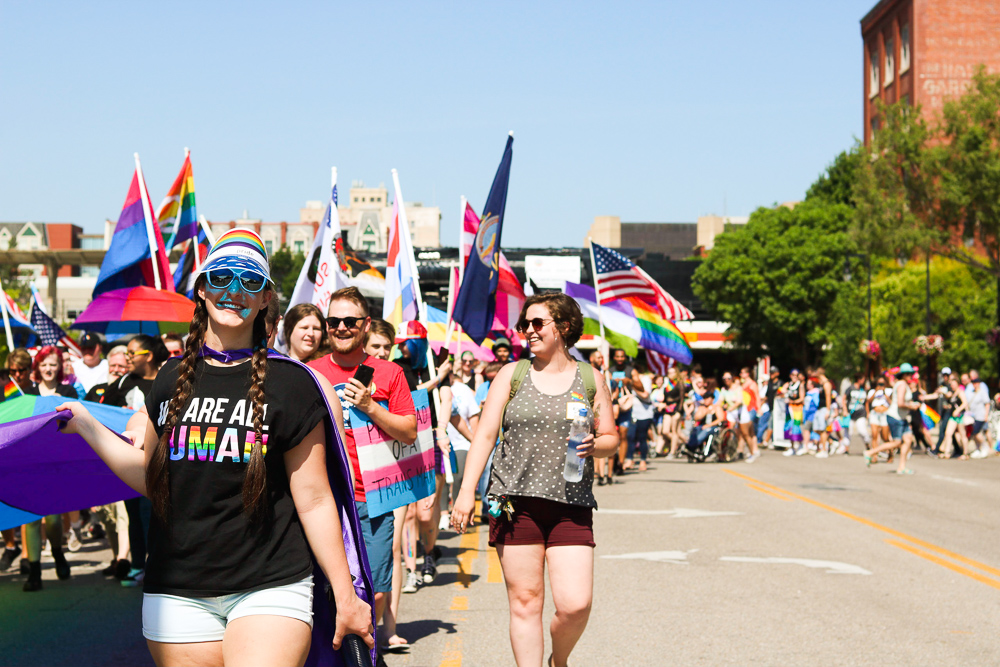 Marchers+turn+onto+Douglas+from+Old+Town+during+Wichita+Pride%27s+Unity+March+on+Saturday%2C+June+29.