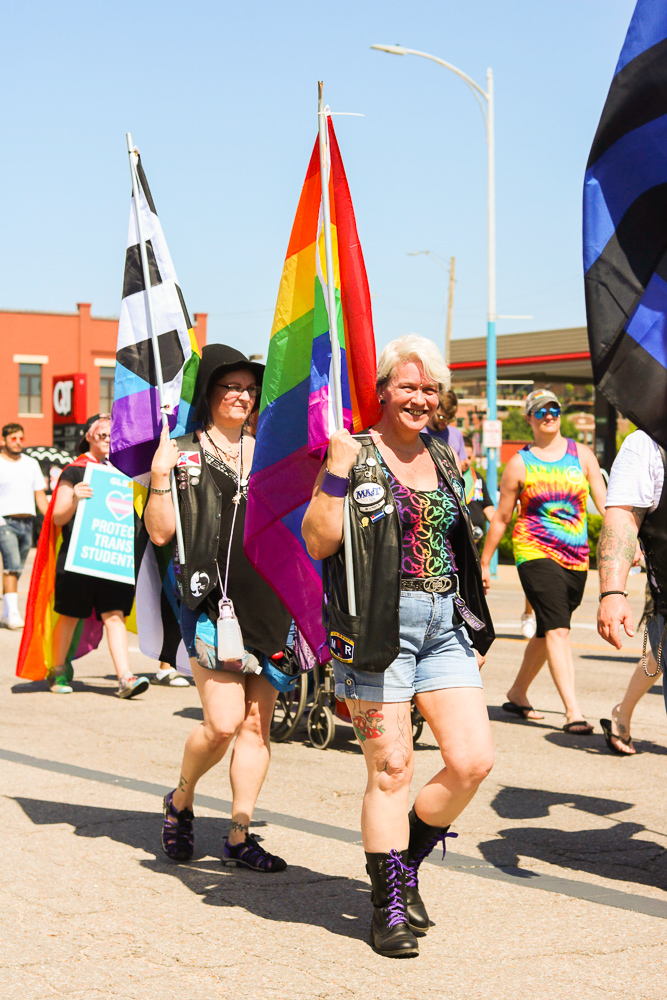 Marchers+carry+pride+flags+during+Wichita+Pride%27s+Unity+March+on+Saturday%2C+June+29.