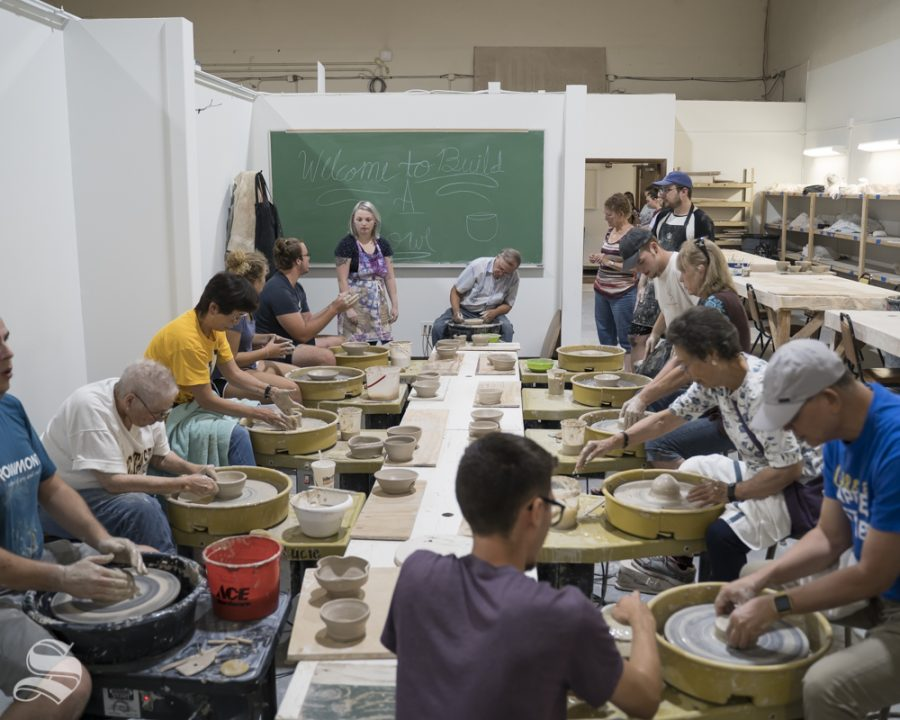 Empty+Bowls+Chili+Cook-off+is+in+collaboration+with+the+WSU+Ceramics+Guild%2C+Ceramics+Media%2C+and+the+School+of+Art%2C+Design+and+Creative+Industries.+The+event+was+held+at+Henrion+Hall+on+Aug+28%2C+2019.