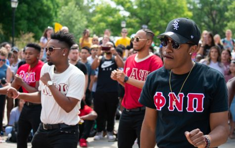 PHOTOS: Multicultural Greek Council hosts 2019 Yard Step event