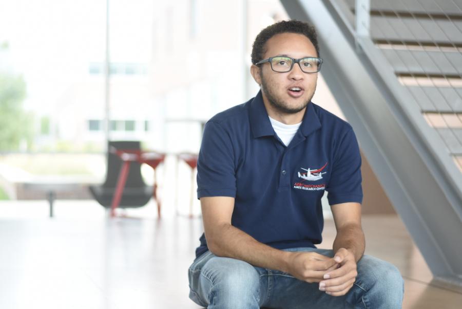 WSU student reaches for the stars at NASA internship – The