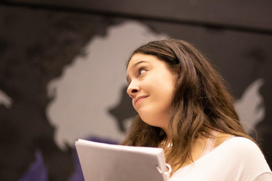 Ariel Glorsky plays Nancy in Love Me or Leave Me.