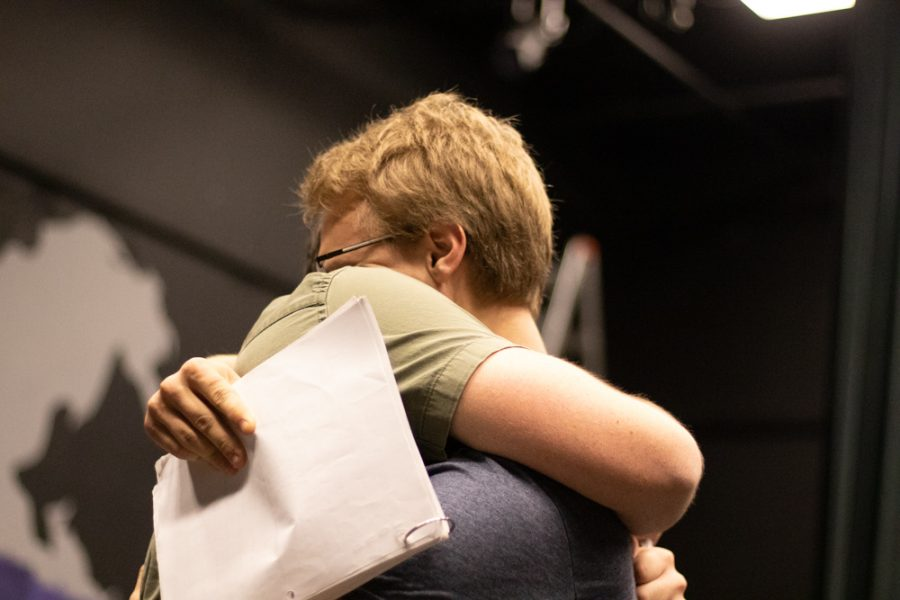 Love Me or Leave Me is a play about a married couple who try to save their relationship.