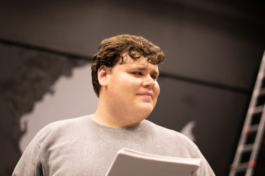 Julian Cormejo plays Paul in Love Me or Leave Me. Paul is a happy character and always optimistic.
