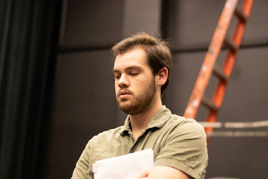 Trevor Seyl plays Parker in Love Me or Leave Me. He is one member of the struggling couple.