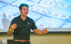 Schuyler Bailar discusses mental health, LGBTQ issues during campus visit