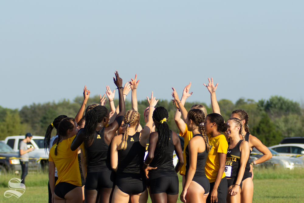 Wichita State women's cross country team prepares for the JK Gold Classic on Sept. 7 at 4 Mile Creek Resort.