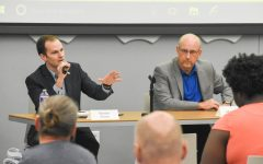 Students ask the tough questions at municipal election forum