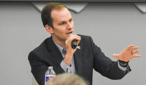 Kansas legislator Brandon Whipple hopes to prioritize education, public input as mayor