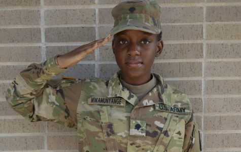 Learning to Lead: Cadet Mwamunyange sees ROTC as a path to her dreams