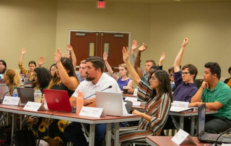 SGA senators voted to recognize a new pro-life group called Shockers for Life at their Wednesday meeting. Twenty-one senators voted in favor and 20 abstained.