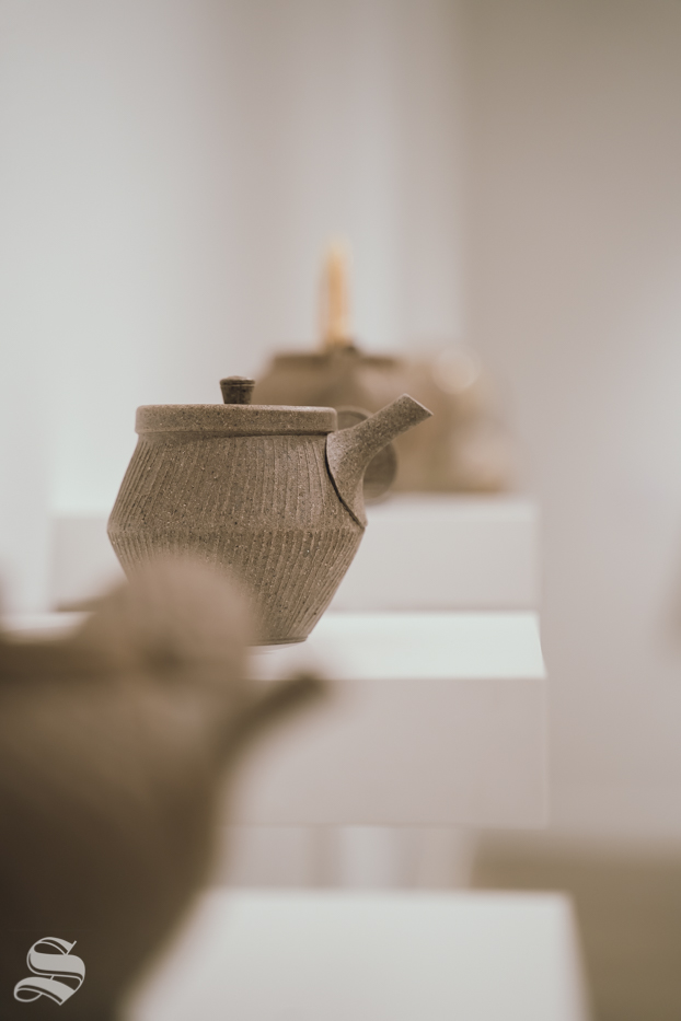 The+Fall+exhibition+features+a+variety+of+artwork.+Pictured%3A+Soneware+Teapot+by+John+Neely.