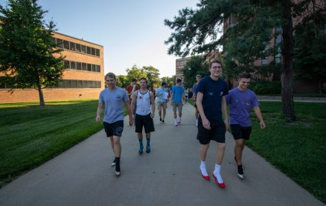 PHOTOS: Walk-a-Mile raises awareness for on-campus sexual assault, gender based violence