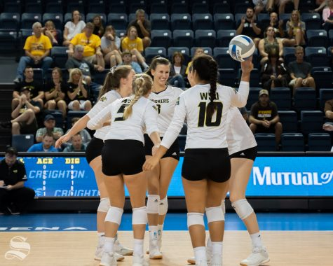 PHOTOS: Sights from Shocker volleyball's weekend action in Nebraska