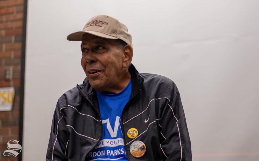 David Parks, son of Gordon Parks, talks film and literature at WSU