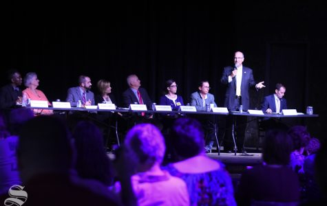 Century II, transparency and budget cuts dominate the Arts Council forum