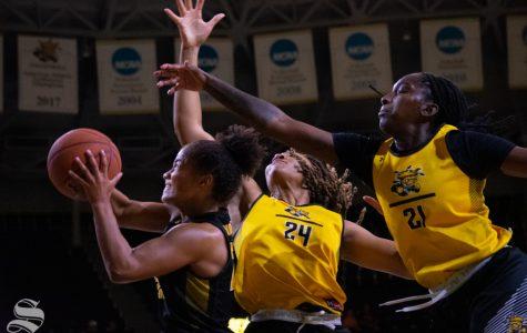 Shockers make 2019-20 season debut at the Black and Yellow Scrimmage