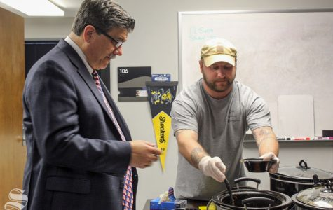 SVO moves inside for chili cookoff; plans suicide awareness project