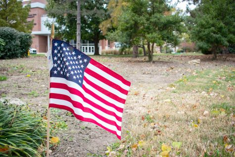 Campus will be covered in American flags as part of veteran suicide awareness project