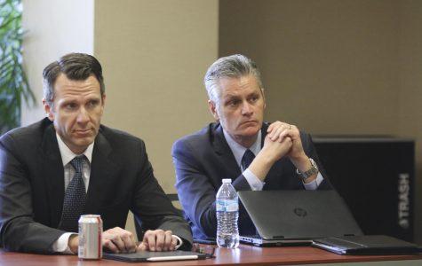 PHOTOS: Kansas Board of Regents visits Wichita State on Thursday, Oct. 17.