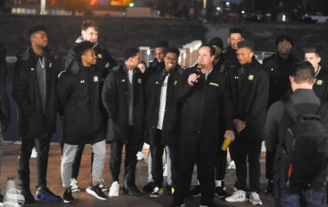 PHOTOS: Wichita State holds Pep Rally for men's and women's basketball on Friday, Oct. 25 in Braeburn Square