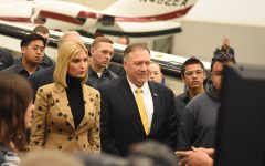 PHOTOS: United States Secretary of State Mike Pompeo and First Daughter Ivanka Trump travel to Kansas for a tour of Textron Aviation and Wichita Tech
