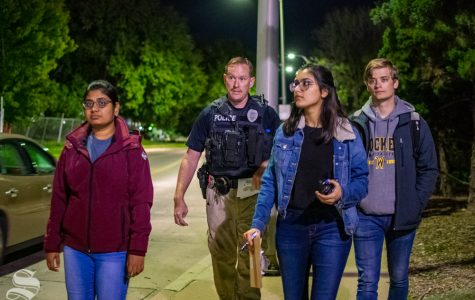 Crosswalks, lighting addressed at third annual Campus Safety Walk