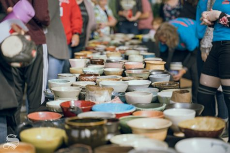 PHOTOS: Empty Bowls Workshop brings involvement to help benefit the Kansas Food Bank