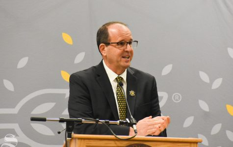 PHOTOS: Jay Golden, new WSU president, makes first campus visit