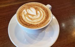 Reverie Coffee Roaster's pumpkin spice latte