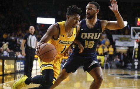Shockers showcase experience, pull out win over Golden Eagles
