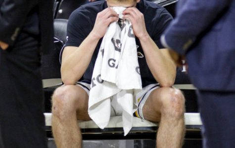'It's been tough this week': Stevenson overcomes emotional night to help Shockers win