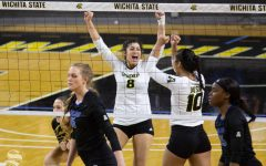 Shockers win home finale, honor 2 seniors