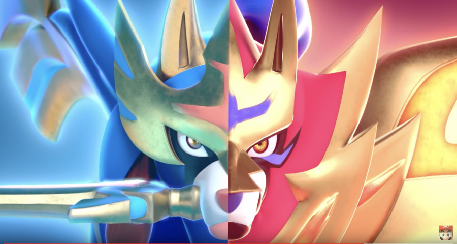 Cover characters of Pokemon Sword and Shield, Zacian and Zamazenta. Photo credit by The Pokemon Company and Nintendo.