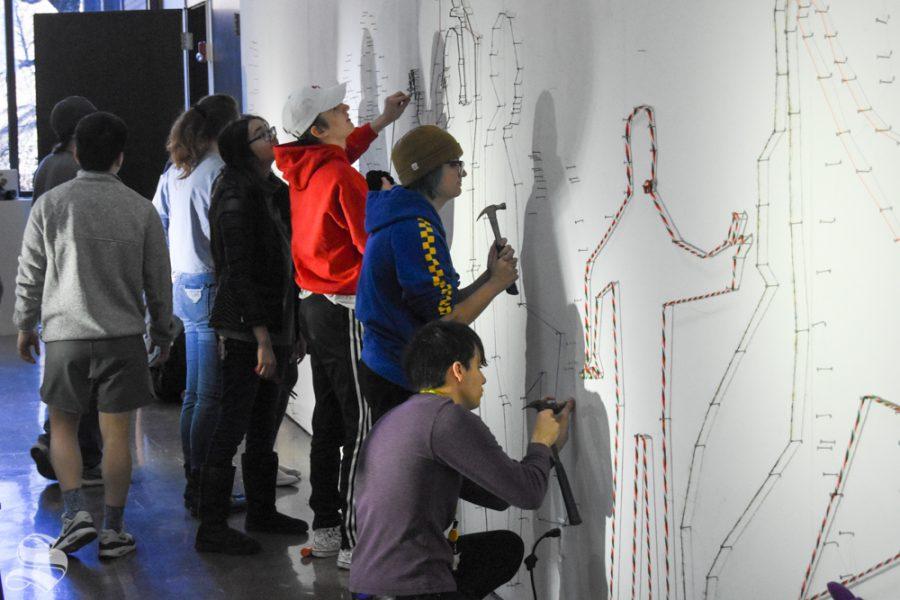 PHOTOS: Wichita State's graduate drawing class hosts drawing marathon