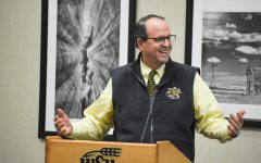 Golden again emphasizes the student experience during SGA address