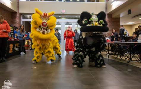 PHOTOS: WSU's Office of Diversity and Inclusion hosts Lunar New Year Event on Tuesday