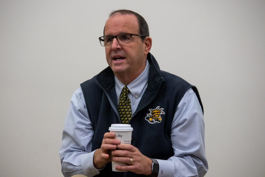 Wichita State's 14th President Jay Golden talks about the future of the university.