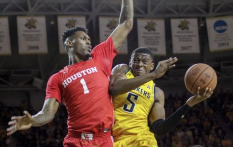 Shockers drop second straight to Houston