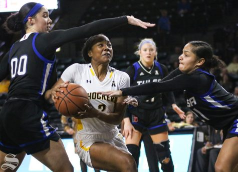 WSU women struggle offensively in loss to Memphis