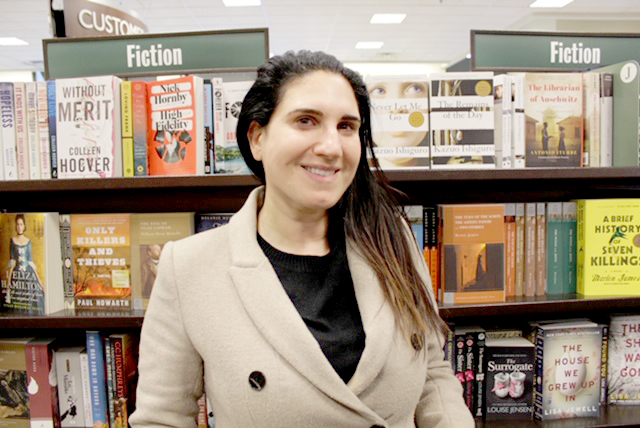 "Local author, Sarah Houssayni, wrote ""Wasted Salt"" to provide readers a new perspective on immigration and the interconnectedness of humanity."