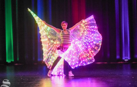 PHOTOS: Glow Circus lights up the CAC Theater