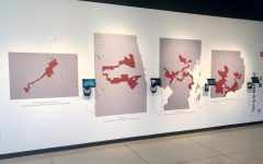 Political science professor opens anti-gerrymandering exhibit at the Ulrich