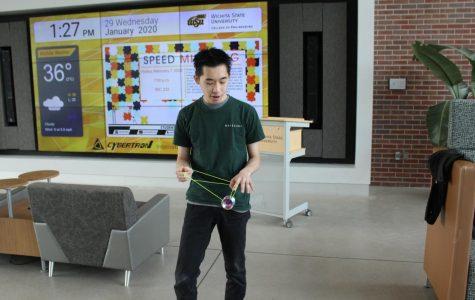 Julian Chee shows off the yo-yo skills that won him the 2017 and 2018 Malaysian Yo-Yo Championship.