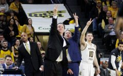 Wichita State Head Coach Gregg Marshall calls a play during the second half of the game against Cincinnati on Feb. 6 inside Charles Koch Arena.