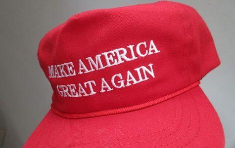 Student threatened over MAGA hat